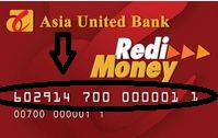 AUB RediMoney Card